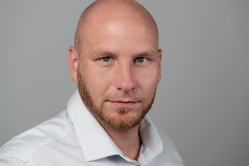 Projektleiter Björn Ofenstein
