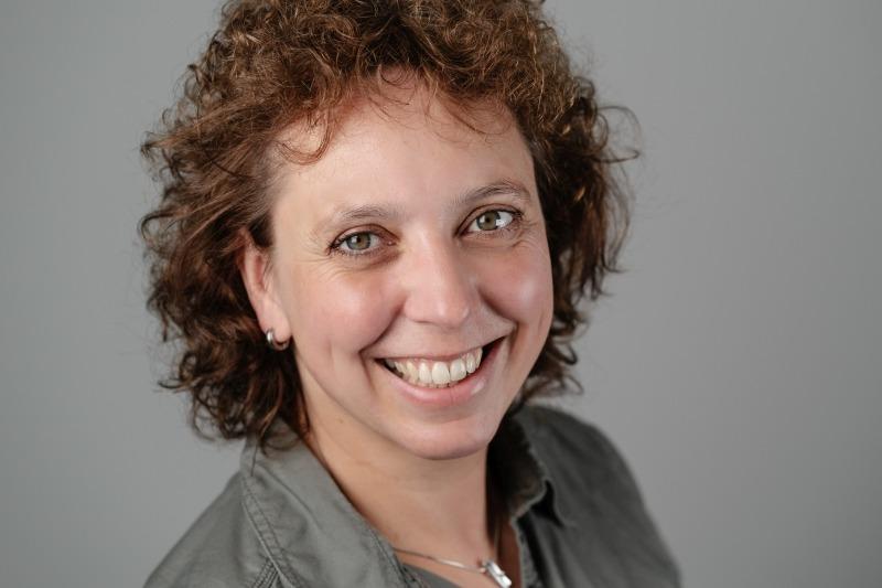 Sekretärin Jutta Bäumener